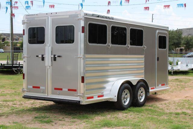 2021 Featherlite 7441 - 3 HORSE SLANT Three Horse Slant CONROE, TX 23