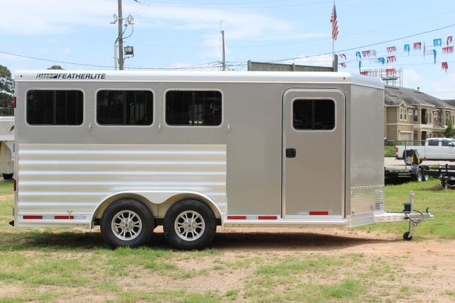 2021 Featherlite 7441 - 3 HORSE SLANT Three Horse Slant CONROE, TX 24