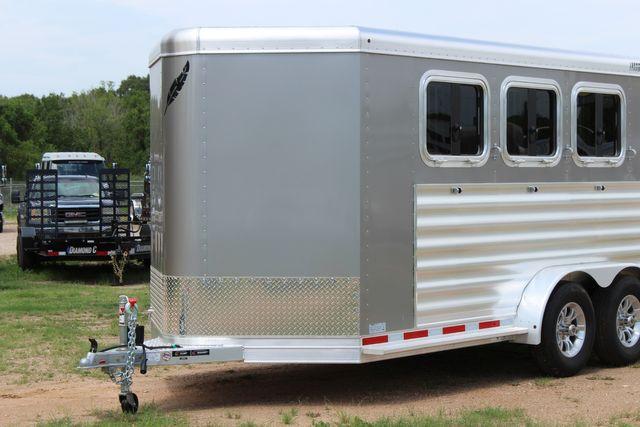 2021 Featherlite 7441 - 3 HORSE SLANT Three Horse Slant CONROE, TX 4