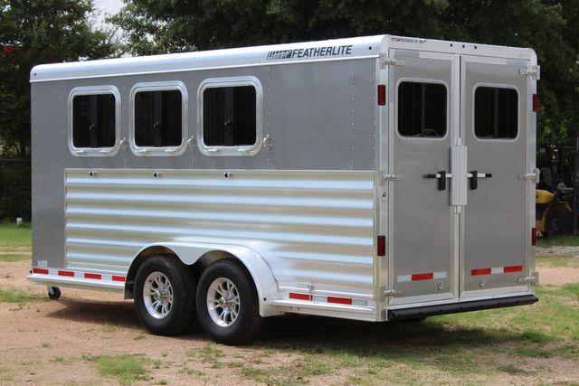 2021 Featherlite 7441 - 3 HORSE SLANT Three Horse Slant CONROE, TX 8