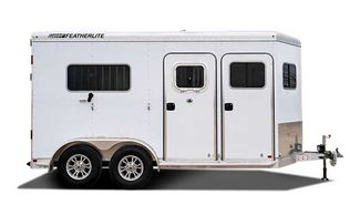 2022 Featherlite 7442 2 Horse Straight Load in Conroe, TX 77384