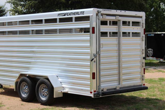 "2021 Featherlite 8107 - 16' Livestock package 6'7"" W x 6'6"" H x 16' L CONROE, TX 10"