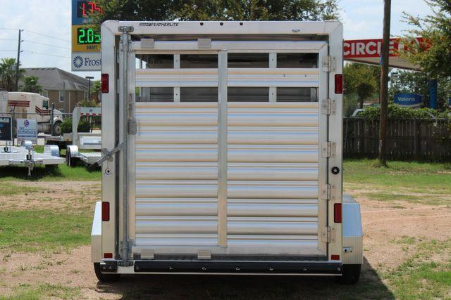 "2021 Featherlite 8107 - 16' Livestock package 6'7"" W x 6'6"" H x 16' L CONROE, TX 11"