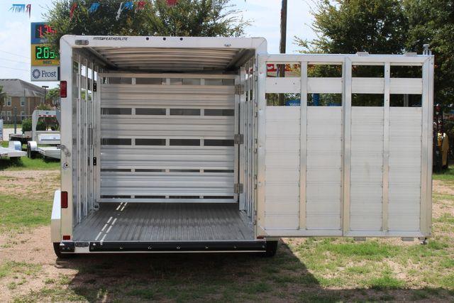 "2021 Featherlite 8107 - 16' Livestock package 6'7"" W x 6'6"" H x 16' L CONROE, TX 13"