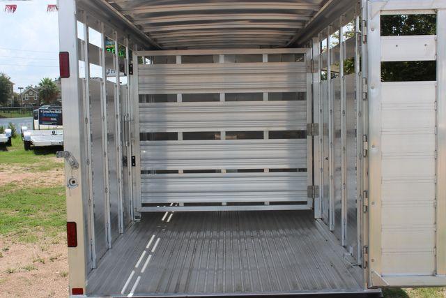 "2021 Featherlite 8107 - 16' Livestock package 6'7"" W x 6'6"" H x 16' L CONROE, TX 14"