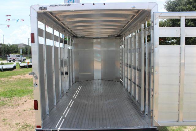 "2021 Featherlite 8107 - 16' Livestock package 6'7"" W x 6'6"" H x 16' L CONROE, TX 15"