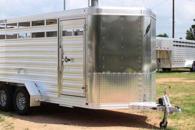 "2021 Featherlite 8107 - 16' Livestock package 6'7"" W x 6'6"" H x 16' L CONROE, TX 2"