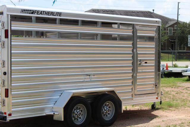 "2021 Featherlite 8107 - 16' Livestock package 6'7"" W x 6'6"" H x 16' L CONROE, TX 20"