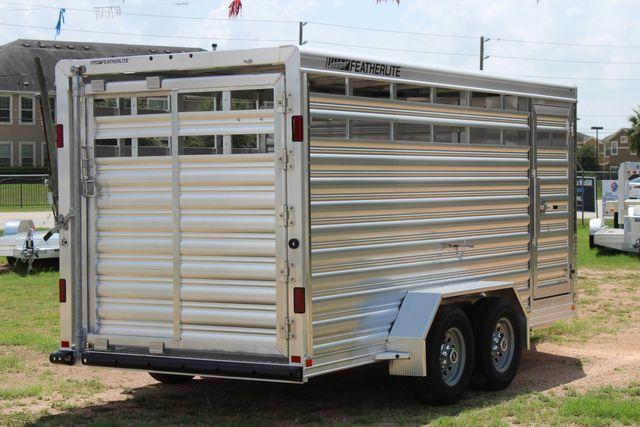 "2021 Featherlite 8107 - 16' Livestock package 6'7"" W x 6'6"" H x 16' L CONROE, TX 21"