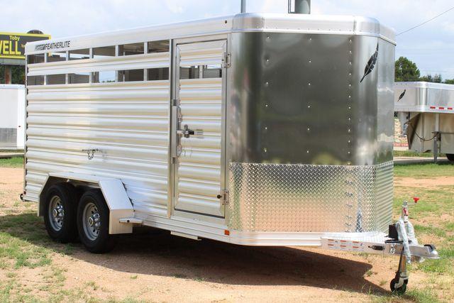 "2021 Featherlite 8107 - 16' Livestock package 6'7"" W x 6'6"" H x 16' L CONROE, TX 23"