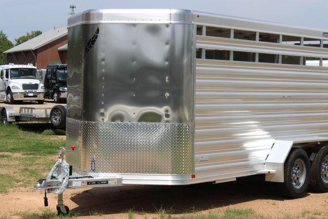 "2021 Featherlite 8107 - 16' Livestock package 6'7"" W x 6'6"" H x 16' L CONROE, TX 4"