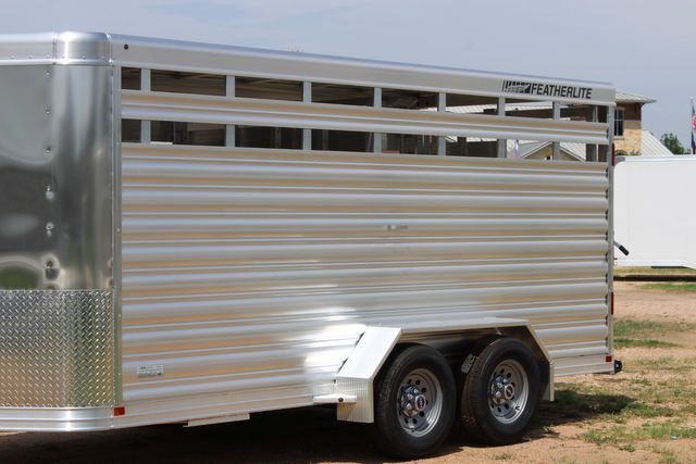 "2021 Featherlite 8107 - 16' Livestock package 6'7"" W x 6'6"" H x 16' L CONROE, TX 5"