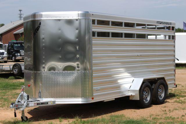 "2021 Featherlite 8107 - 16' Livestock package 6'7"" W x 6'6"" H x 16' L CONROE, TX 6"