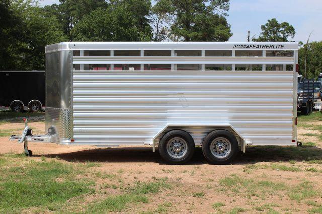 "2021 Featherlite 8107 - 16' Livestock package 6'7"" W x 6'6"" H x 16' L CONROE, TX 7"