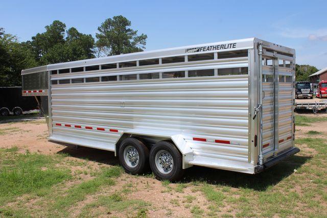 2021 Featherlite 8117 - 20 LIVESTOCK CATTLE 20' GOOSE NECK CONROE, TX 10