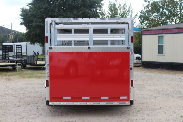 2021 Featherlite 8127 - LIVESTOCK 24' LIVESTOCK SHOW TRAILER WITH PEN SYSTEM RAMPS CONROE, TX 12