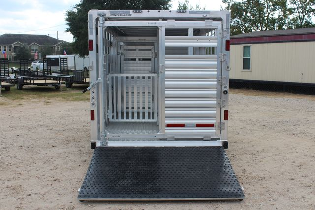 2021 Featherlite 8127 - LIVESTOCK 24' LIVESTOCK SHOW TRAILER WITH PEN SYSTEM RAMPS CONROE, TX 14