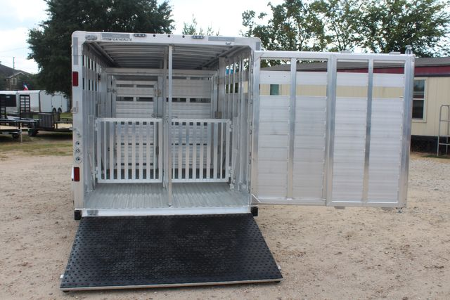 2021 Featherlite 8127 - LIVESTOCK 24' LIVESTOCK SHOW TRAILER WITH PEN SYSTEM RAMPS CONROE, TX 15