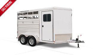 2022 Featherlite 9651 2 Horse Slant PKG B in Conroe, TX 77384
