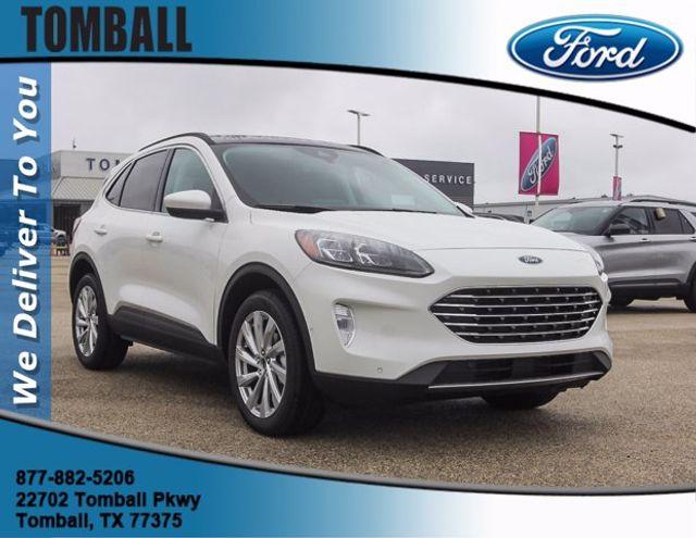 2021 Ford Escape Titanium in Tomball, TX 77375