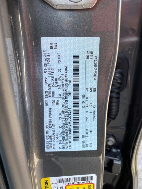 2021 Ford Ranger XL Madison, NC 33