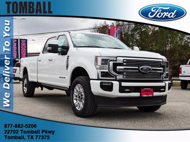 2021 Ford Super Duty F-350 SRW Pickup Limited in Tomball, TX 77375