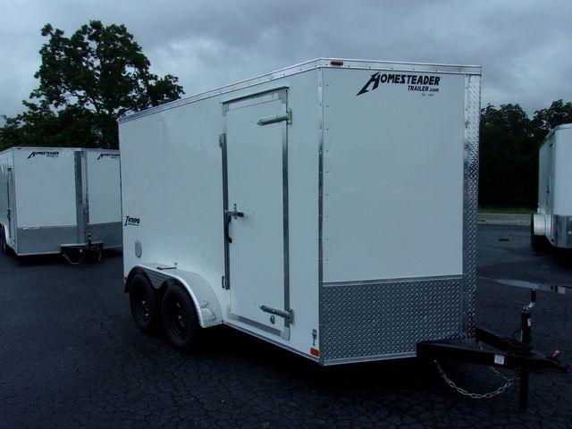 "2022 -Homesteader Enclosed 7x12 6' 6"" Interior Height"