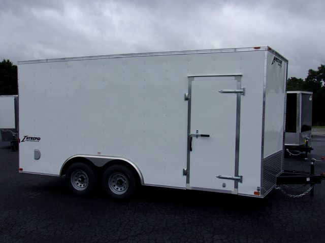 2021 -Homesteader Enclosed 8 1/2x16 5 Ton 7 Ft Interior Height in Madison, Georgia 30650