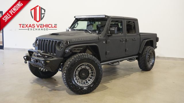2021 Jeep Gladiator Rubicon DIESEL,DUPONT KEVLAR,LIFTED,BUMPERS in Carrollton, TX 75006