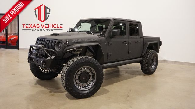 2021 Jeep Gladiator Rubicon 4X4 6.4L HEMI,DUPONT KEVLAR,LIFTED,LED'S