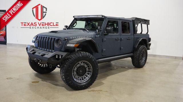 2021 Jeep Gladiator Rubicon 4X4 FAB FOURS,DUPONT KEVLAR,LIFTED,LED'S