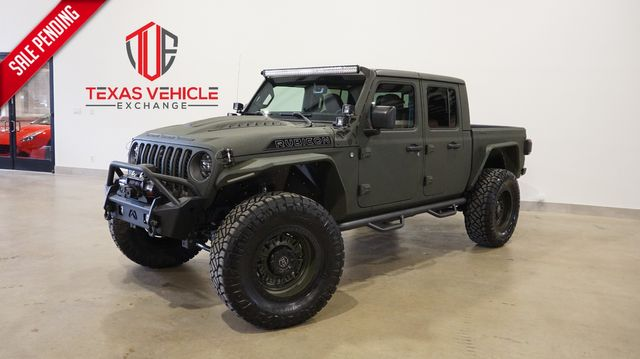 2021 Jeep Gladiator Rubicon 4X4 DIESEL,DUPONT KEVLAR,LIFTED,BUMPERS