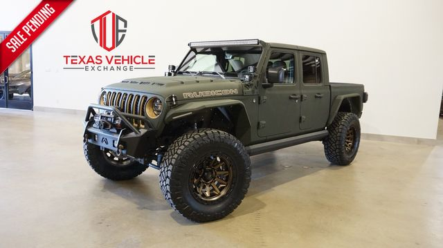 2021 Jeep Gladiator Rubicon 4X4 DUPONT KEVLAR,LIFTED,BUMPERS,LED'S in Carrollton, TX 75006