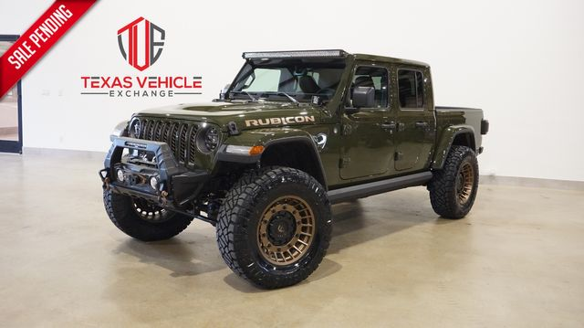 2021 Jeep Gladiator Rubicon 4X4 DIESEL,LIFTED,BUMPERS,LED'S,FUEL WHLS