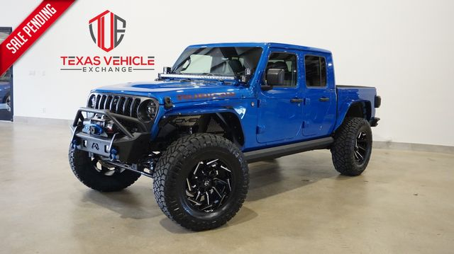 2021 Jeep Gladiator Rubicon 4X4 LIFTED,BUMPERS,LED'S,NAV,FUEL WHLS in Carrollton, TX 75006