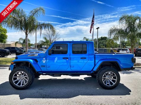 2021 Jeep Gladiator DIESEL HYDRO CUSTOM LIFTED LEATHER NAV OCD4X4 in Plant City, Florida