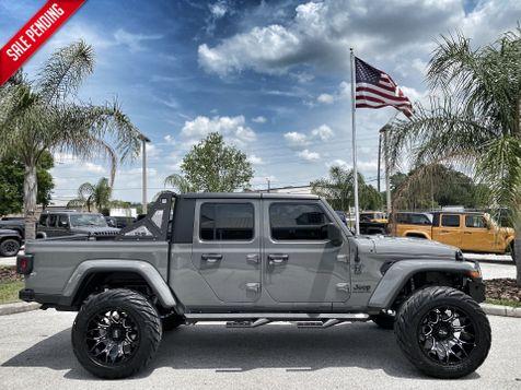 2021 Jeep Gladiator DIESEL LIFTED LEATHER NAV HARDTOP ALPINE OCD in Plant City, Florida