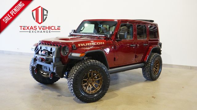 2021 Jeep Wrangler Unlimited Rubicon 4X4 SKY TOP,LIFTED,BUMPERS,LED'S