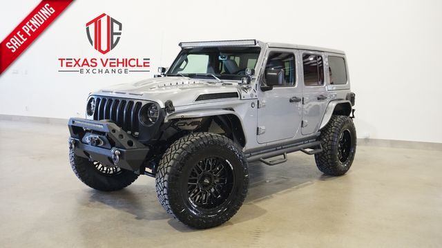 2021 Jeep Wrangler Unlimited Sport 4X4 LIFTED,BUMPERS,NAV,LED'S,20IN WHLS