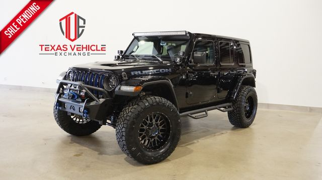 2021 Jeep Wrangler Unlimited Rubicon 4X4 LIFTED,BUMPERS,LED'S,20IN WHLS in Carrollton, TX 75006