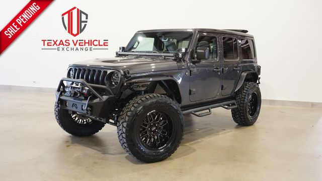 2021 Jeep Wrangler Unlimited Sport 4X4 SKY TOP,LIFTED,BUMPERS,LED'S,NAV
