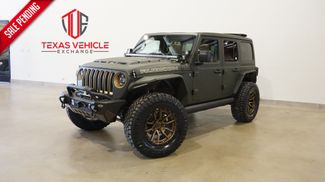 2021 Jeep Wrangler Unlimited Rubicon 4X4 SKY TOP,DUPONT KEVLAR,LIFT,LED'S in Carrollton, TX 75006