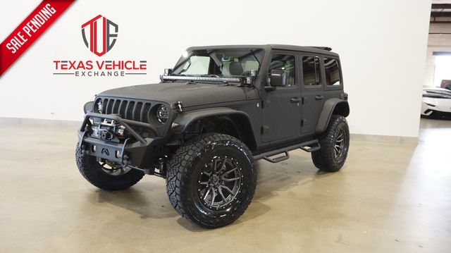 2021 Jeep Wrangler Unlimited Sport 4X4 SKY TOP,DUPONT KEVLAR,LIFT,NAV in Carrollton, TX 75006