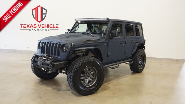 2021 Jeep Wrangler Unlimited Sport 4X4 DUPONT KEVLAR,LIFTED,LED'S,FUEL WHLS
