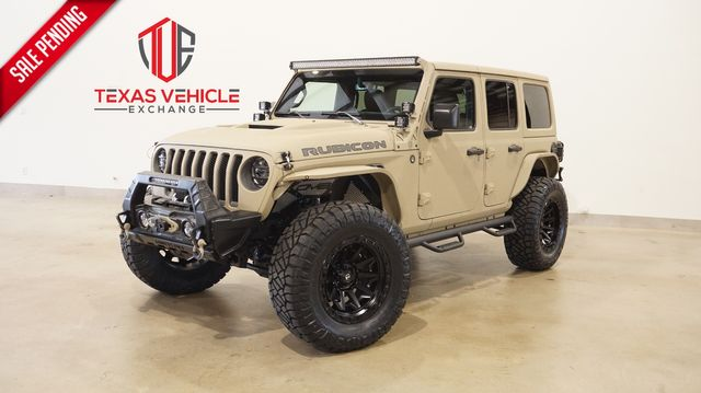 2021 Jeep Wrangler Unlimited Rubicon 4X4 DUPONT KEVLAR,LIFTED,LED'S in Carrollton, TX 75006