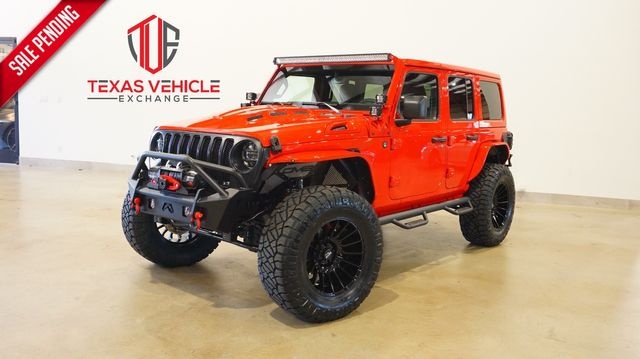 2021 Jeep Wrangler Unlimited Sport 4X4 LIFTED,BUMPERS,LED'S,NAV,20IN WHLS