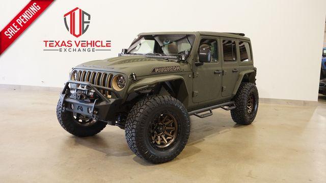 2021 Jeep Wrangler Unlimited Rubicon 4X4 DIESEL,SKY TOP,DUPONT KEVLAR,LIFT in Carrollton, TX 75006
