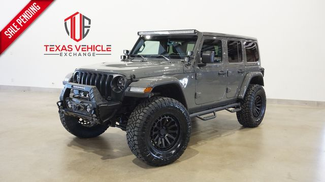 2021 Jeep Wrangler Unlimited Rubicon 4X4 LIFTED,BUMPERS,LED'S,20IN WHLS