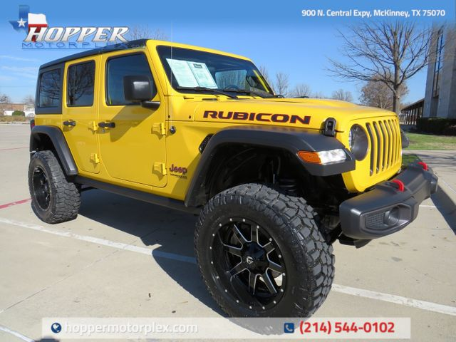 2021 Jeep Wrangler Unlimited Rubicon NEW LIFT/CUSTOM WHEELS AND TIRES