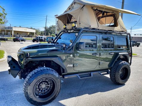 2021 Jeep Wrangler SARGE CAMPER SAFARI CAGE LIFTED LEATHER 37